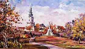 Obrazy - Jesenná Nitra - 11162424_
