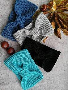 Čiapky - Čelenka  (Modrá) - 11162103_