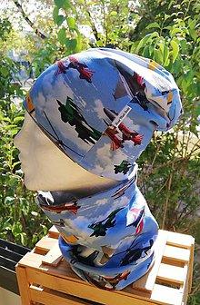 Detské čiapky - Lietadlový set - 11164703_
