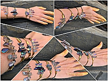 Náramky - Egyptská kňažná - 11163284_