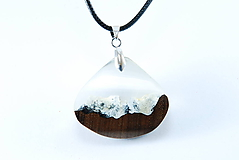 Náhrdelníky - Tatry- Drevený náhrdelník - 11162773_