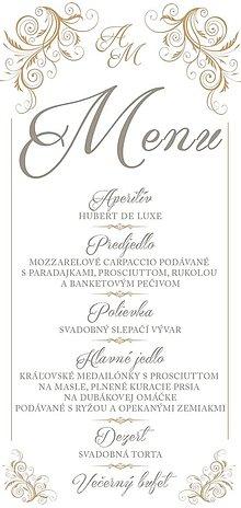 Drobnosti - svadobné menu - 11161940_