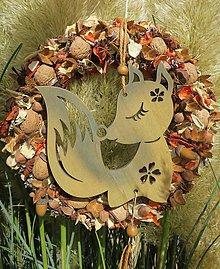 Dekorácie - jesenny veniec - 11163517_