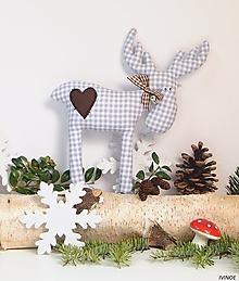 Dekorácie - Vianočný sobík - 11162102_