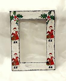 Rámiky - vianočný fotorámik - 11164375_