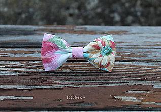 Doplnky - Pánsky motýlik (Ružová) - 11167659_