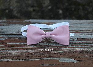 Doplnky - Pánsky motýlik (Ružová) - 11167671_