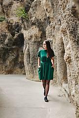 Šaty - Šaty Emerald Oversize - 11165567_