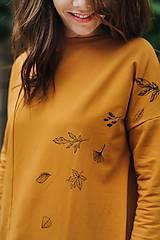 Mikiny - Mikina Yellow Autumn - 11165788_