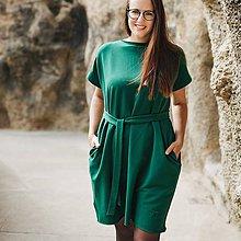Šaty - Šaty Emerald Oversize - 11165568_