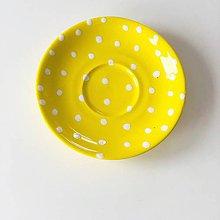 Nádoby - Žltý tanierik - 11166035_