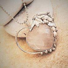 Náhrdelníky - AXEL heart náhrdelník - 11167481_