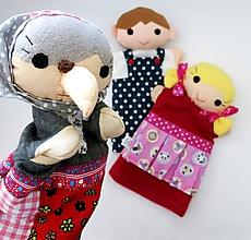 Hračky - O Jankovi a Marienke - sada maňušiek na ruku - 11165010_