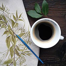 Úžitkový textil - Vankúš veniec trávy - 11166375_