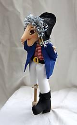 Maňuška. Bábika Pirát Strašlivý Jack.