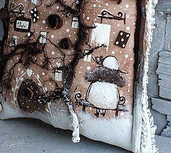 Dekorácie - Zimná Čokokoládovňa - 11165733_