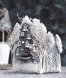 """Dekorácie - Vila  """"Winter Anthracite"""" - 11167638_"""