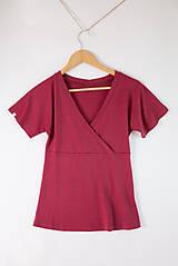 Tričká - Merino (nielen kojo) tričko - 11167708_