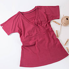 Tričká - Merino (nielen kojo) tričko - 11167704_
