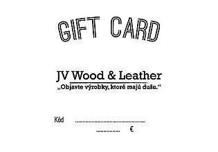 Darčekové poukážky - GIFT CARD (Poukážka) - 11165937_