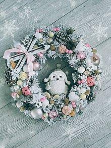 Dekorácie - Vianočný veniec - 11166412_