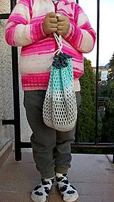 Nákupné tašky - EKo vrecká na ovocie - 11165913_