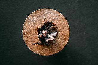 Náhrdelníky - Prívesok dubový list so žaluďom - 11167417_