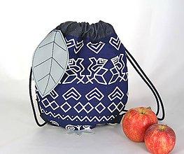 Detské tašky - batoh Jabĺčko Čičmanské 1 - 11166307_