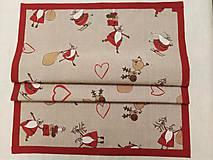Úžitkový textil - VIANOČNÝ STREDOVÝ OBRUS - 11166721_