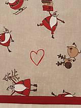 Úžitkový textil - VIANOČNÝ STREDOVÝ OBRUS - 11166722_