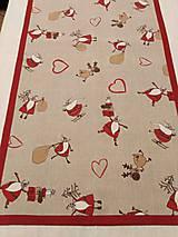 Úžitkový textil - VIANOČNÝ STREDOVÝ OBRUS - 11166723_