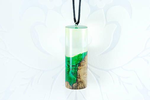 Kapsula lesa 2- Drevený náhrdelník