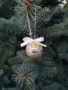 Dekorácie - Voňavé vianočné oriešky - 11166841_