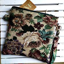 Taštičky - malá kvetinová - 11167374_