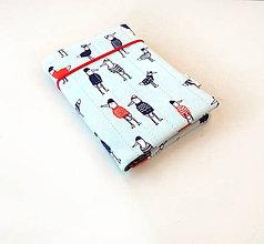 Papiernictvo - Zápisník Oblečené vtáčiky - A6 - 11165403_