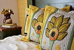 Úžitkový textil - Vankúš - quiltovaný - 11166058_