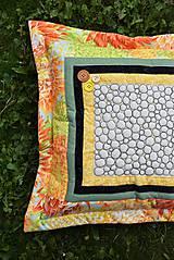 Úžitkový textil - Vankúš - quiltovaný - 11166059_