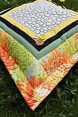 Úžitkový textil - Vankúš - quiltovaný - 11166060_