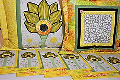 Úžitkový textil - Vankúš - quiltovaný - 11166062_