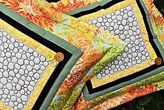 Úžitkový textil - Vankúš - quiltovaný - 11166063_