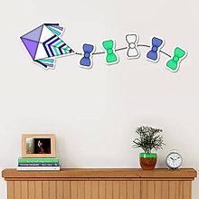 Detské doplnky - Šarkan - dekorácia (šípky) - 11165121_