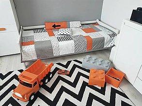 Úžitkový textil - Kolekcia Teenager prehoz obojstranný 120x205/vankúšik/podlhovastý vankúš - 11169720_