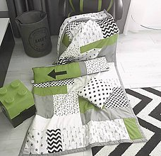 Úžitkový textil - Kolekcia Teenager Olive prehoz obojstranný 120x205/vankúšik/podlhovastý vankúš - 11169909_
