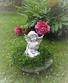 Dekorácie - S anjelom so srdiečkom na dlani - 11168004_