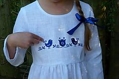 Detské oblečenie - Šatočky Ramia Vtáčik SlovAB - 11169631_