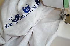 Detské oblečenie - Šatočky Ramia Vtáčik SlovAB - 11169634_