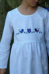 Detské oblečenie - Šatočky Ramia Vtáčik SlovAB - 11169638_