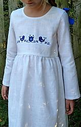 Detské oblečenie - Šatočky Ramia Vtáčik SlovAB - 11169647_