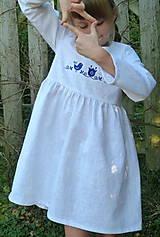 Detské oblečenie - Šatočky Ramia Vtáčik SlovAB - 11169651_