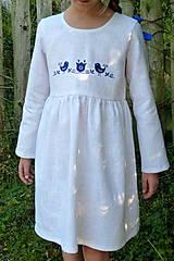 Detské oblečenie - Šatočky Ramia Vtáčik SlovAB - 11169656_